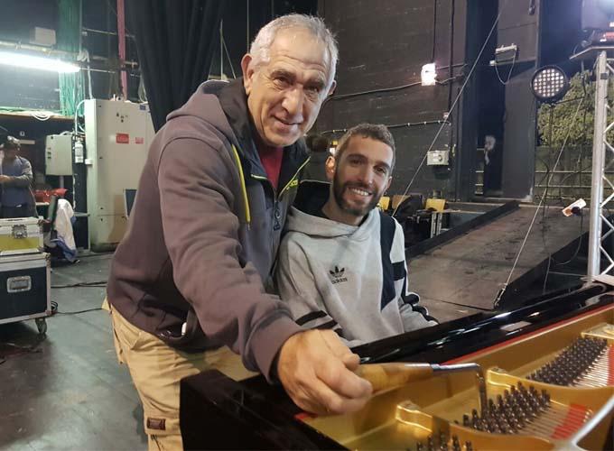 השכרת פסנתר למופע של שלומי שבן