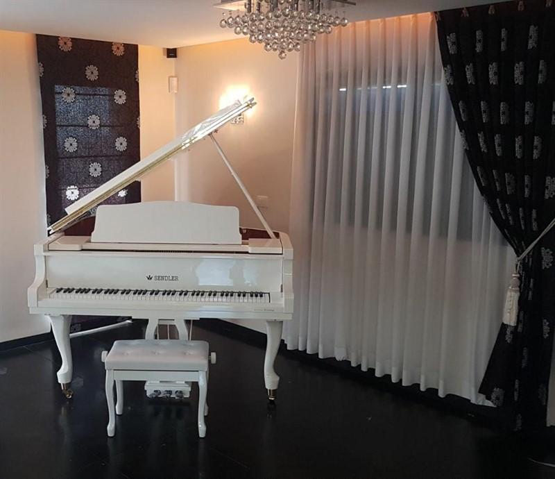 מודרני פסנתר כנף לבן חדש SENDLER   פסנתרי הצפון - המרכז לפסנתרים SS-36