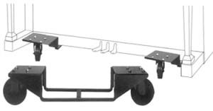 מתקן מיוחד לפסנתר ללא גלגלים