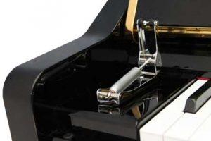 מנגנון טריקה שקטה למקלדת הפסנתר
