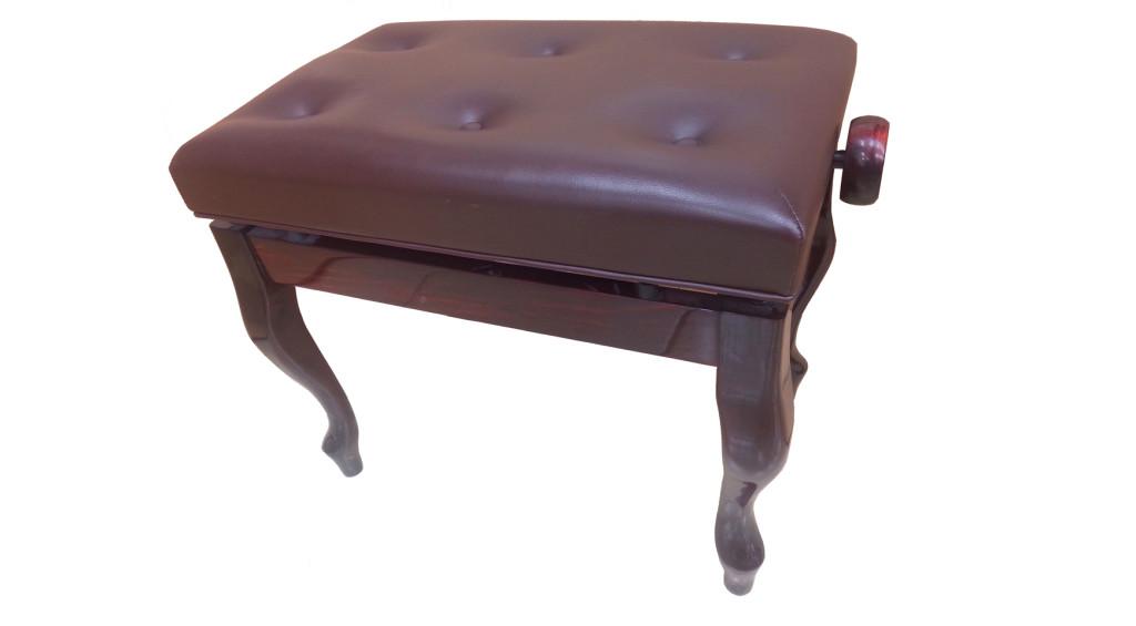 כסא לפסנתר סקאי מהגוני (16)