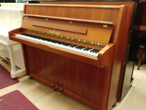 שונות פסנתר גרמני יד שניה SEILER   פסנתרי הצפון - המרכז לפסנתרים KH-16