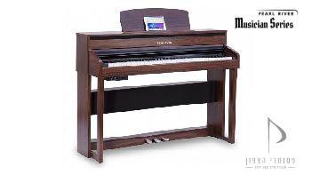 f53 RS פסנתר חשמלי רהיט רוזווד