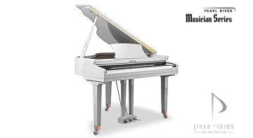פסנתר כנף חשמלי לבן PEARL RIVER GP1100