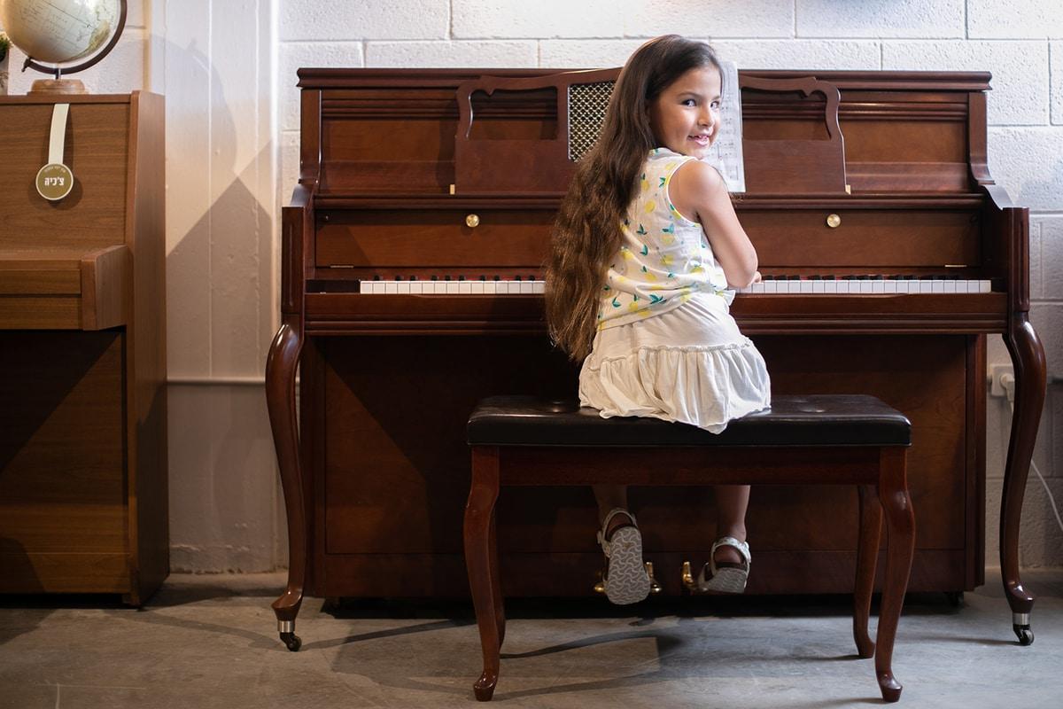 השכרת פסנתר לתלמיד מתחיל